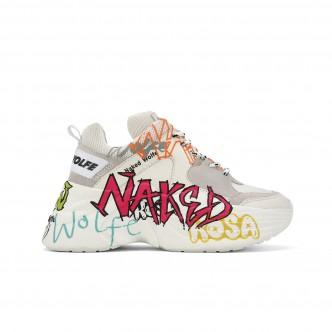 Naked Wolfe Track White Graffiti Bianco NWSTRACK-WHTGRAF