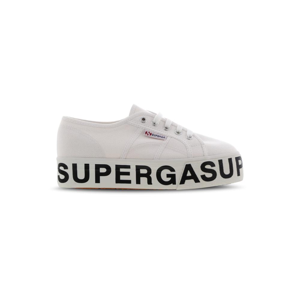 Superga 2790 COTW Outsole Lettering Bianco S00FJ80 901