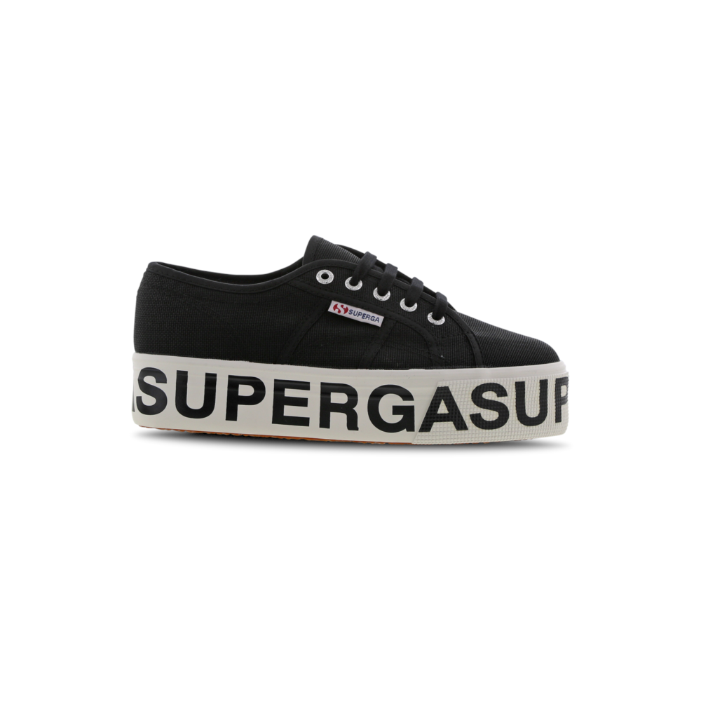 Sneakers superga 2790 cotw outsole lettering nero