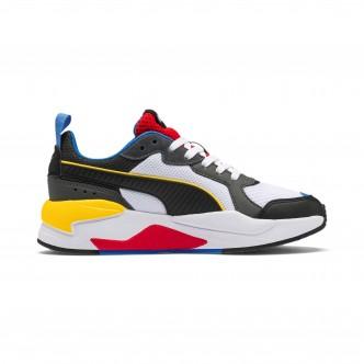 Puma X-Ray Jr Bianco/Nero 372847-01