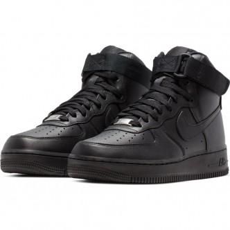 Nike Air Force 1 High Shoe Full Black 334031-013