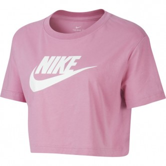 Nike Sportswear Essential Cropped Tee Rosa BV6175-693