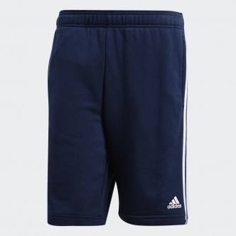 Adidas Short Essentials 3-Stripes Blu-Bianco DU7832