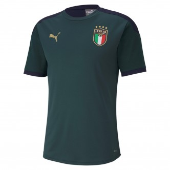 PUMA FIGC Training Jersey Verde 757219-03