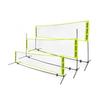 SOCCER TENNIS / VOLLEY / BADMINTON SET ZEUS