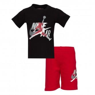 Air Jordan Baby Set Rosso/Nero/Bianco 856941-R78