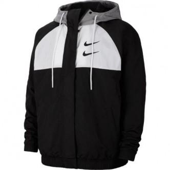 Nike Swoosh Windjacket Nero/Bianco CJ4888-011