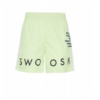 Nike Swoosh Short Woven Verde Fluo CJ4904-701