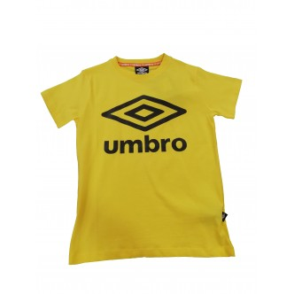 Umbro Logo T-Shirt Baby Giallo/Bianco