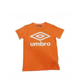 Umbro Logo T-Shirt Baby Arancione/Bianco