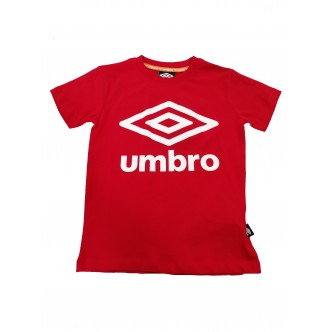 Umbro Logo T-Shirt Rosso/Bianco