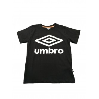 Umbro Logo T-Shirt Nero/Bianco