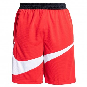 Nike Dry HBR 2.0 Short Rosso/Bianco