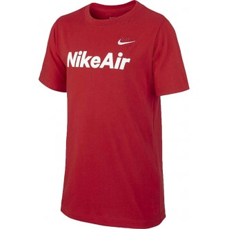 Nike Air Stamp Tee Rosso/Bianco