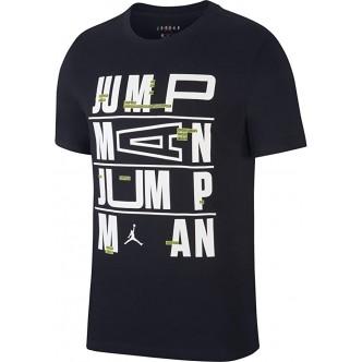 Nike Jumpman Crew Logo Nero/Bianco