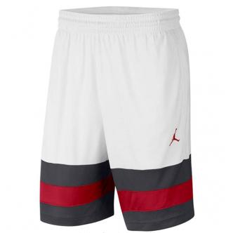 Jordan Jumpman Ball Short Bianco/Rosso/Nero