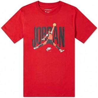 Jordan Jumpman Shirt Rosso/Nero