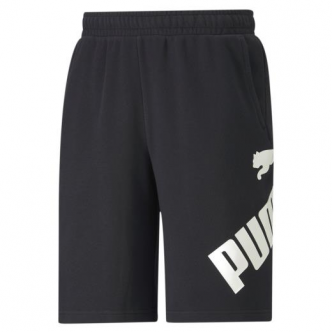 PUMA BIG LOGO SHORTS NERO