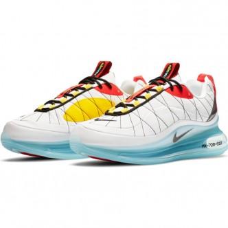 Nike MAX-720-818 WHITE/BLACK-SPEED YELLOW-CHILE RED Scarpe CV4199-100