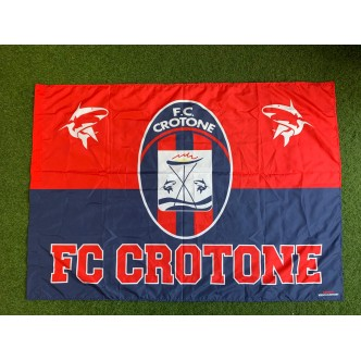 Bandiera F.C. Crotone misura 1.40 x 1.00 cm