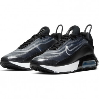 Nike Air Max 2090  CK2612-002. BLACK/WHITE-METALLIC SILVER