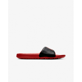 Jordan Break Slippers Nero/Rosso