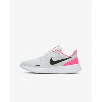 Nike Revolution 5 (GS) Bianco/Nero/Rosa