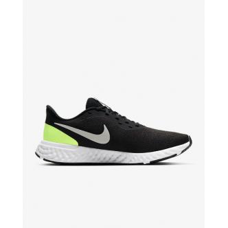 Nike Revolution 5 Nero/Grigio/Verde Fluo