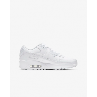 Nike Air Max 90 LTR (GS) Full White. CD6864-100