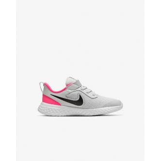 Nike Revolution 5 (PSV) Bianco/Nero/Fucsia
