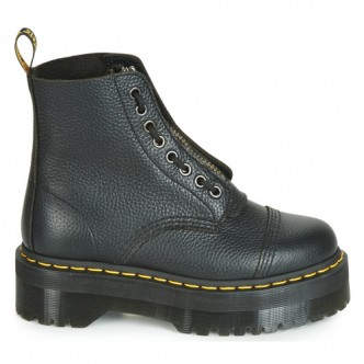 Dr Martens Sinclair. Stivale Donna. BLACK MILLED NAPPA / 22564001