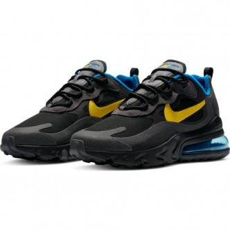 Nike Air Max 270 React. DA1511-001 NERO GIALLO