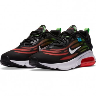 Nike Air Max Exosense SE. CV3016-001BLACK/WHITE-FLASH CRIMSON-GREEN STRIKE