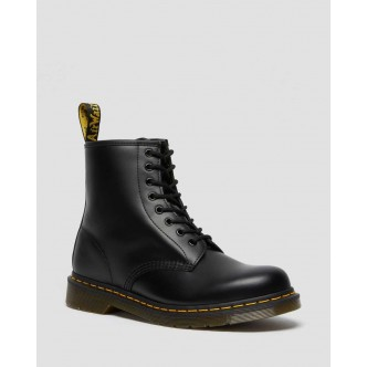 Dr Martens 1460 Nero . Stivale Unisex.  BLACK SMOOTH / 11822006.