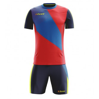 KIT ALEX TRAINING ROSSO BLU ZEUS SPORT
