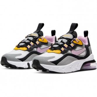 NIKE AIR MAX 270 RT PARTICLE GREY/LT ARCTIC PINK-DARK SULFUR BQ0102-017