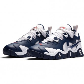 Nike Air Barrage Low MIDNIGHT NAVY/MIDNIGHT NAVY-WHITE Scarpe CN0060-400