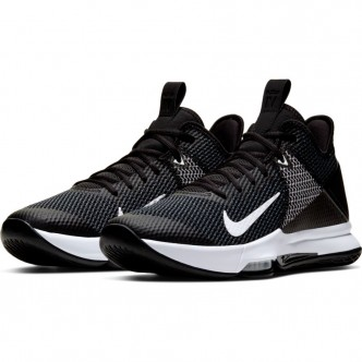 LeBron Witness 4 BLACK/WHITE-IRON GREY-PURE PLATINUM Scarpe BV7427-001