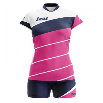 KIT LYBRA DONNA FUCSIA/BLU VOLLEY ZEUS SPORT