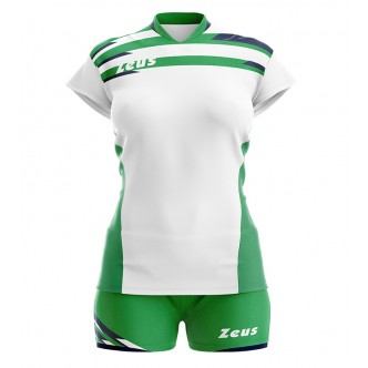 KIT ITACA DONNA BIANCO-VERDE VOLLEY ZEUS SPORT