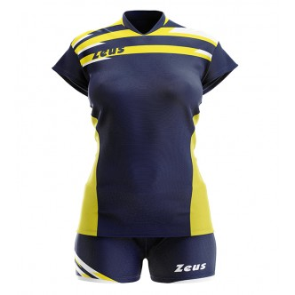 KIT ITACA DONNA BLU GIALLO VOLLEY ZEUS SPORT