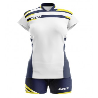 KIT ITACA DONNA BIANCO BLU VOLLEY ZEUS SPORT