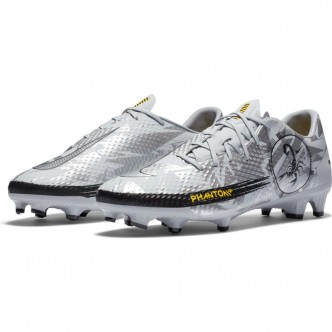 NIKE PHANTOM SCORPION ACADEMY MG WOLF GREY/METALLIC SILVER-BLACK Scarpe DA2267-001