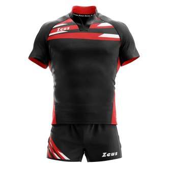 KIT EAGLE NERO/ROSSO RUGBY ZEUS SPORT
