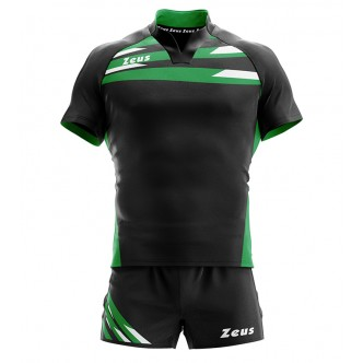 KIT EAGLE NERO/VERDE RUGBY ZEUS SPORT