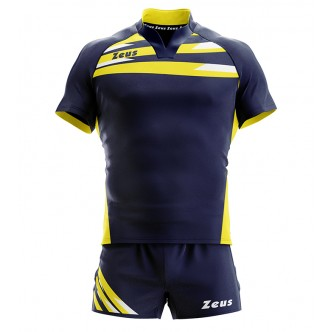 KIT EAGLE BLU GIALLO RUGBY ZEUS SPORT