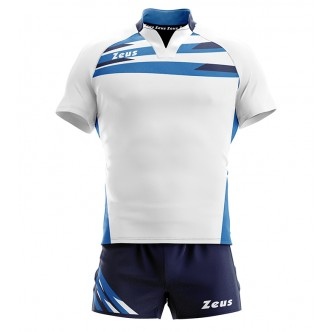 KIT EAGLE BIANCO ROYAL RUGBY ZEUS SPORT