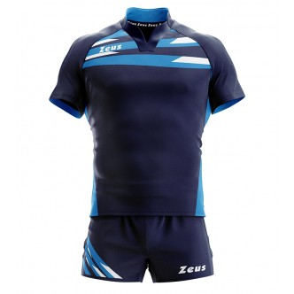 KIT EAGLE BLU/LIGHT ROYAL RUGBY ZEUS SPORT