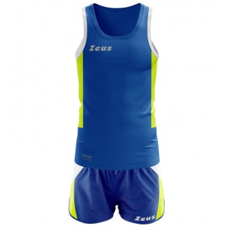 KIT RUNNING ATLANTE ROYAL/GIALLOFLUO RUNNING ZEUS SPORT
