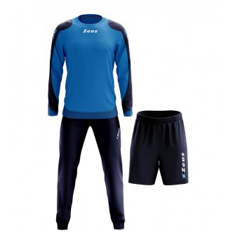 TRIS NAPOLI TRAINING BLU/LIGHT ROYAL ZEUS SPORT